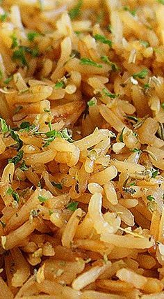 This rice side dish would be a flavorful accompaniment to roast beef or pork chops. Photo credit: Georgia Johnson from Comfort of Cooking. Rice Side Dishes, Side Dishes Easy, Vegetable Side Dishes, Vegetable Recipes, Salad Dishes, Risotto Dishes, Salads, Easy Cooking, Cooking Recipes
