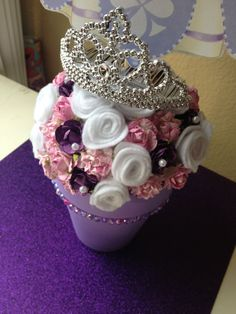 Sofia the first centerpiece by Annabellasworld on Etsy, $23.00