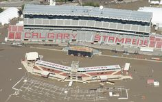 Calgary Stampede rodeo grounds