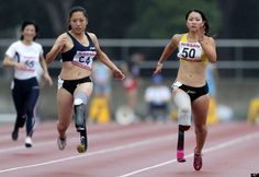 Maya Nakanishi, one of Japan's most promising track and field athletes.