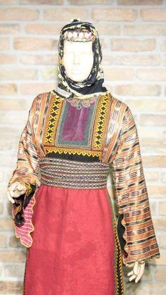 "Turkish women's traditional dress. From ""KadinKultur"" museum."
