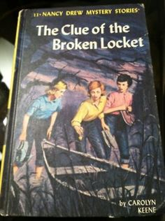 The first of many Nancy Drew books that I read!  Loved them!
