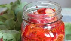 While technically devoid of butter, these pickled radishes are reminiscent of classic bread-and-butter pickles.