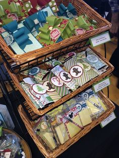 Baskets for craft fair