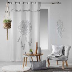 Krásne závesy v odtieňoch sivej farby dodajú Vášmu domovu kúsok štýlu a elegancie. Dekoračné závesy zaujmú nie len Vás ale aj Vašu návštevu. Stores, Decoration, Oversized Mirror, Accent Chairs, Sweet Home, Curtains, Furniture, Design, Home Decor