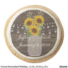 Custom Personalized Wedding Cookies