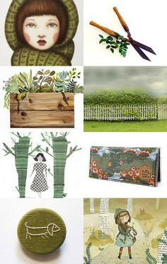 Over the hedge by Emma on Etsy--Pinned with TreasuryPin.com
