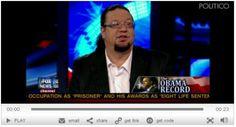 Penn Jillette's 2012 pick: Gary Johnson