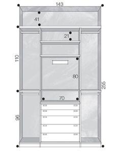 Closet Layout Diy New Ideas Bedroom Closet Design, Bedroom Wardrobe, Wardrobe Closet, Wardrobe Design, Closet Designs, Master Closet, Closet Space, Walk In Closet, Built In Cupboards