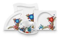 so...I've wanted this Villeroy and Boch Acapulco Wave for a long time...think I still do ...