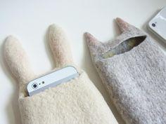 2015.5.10ワークショップ ねことうさぎのスマートフォンケース[workshop information - cat&rabbit smartphone case Felt Fulling Lab-Ryoko Hirota]20150330