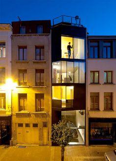 CSD Architecten, Britt Crepain & Stefan Spaens house, Antwerp, Belgium
