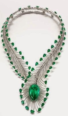 Emerald Necklace Bogh-Art