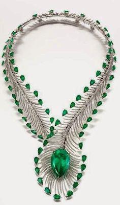Emerald Necklace Bogh-Art