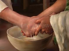 images of foot washing | Foot Washing of Jesus