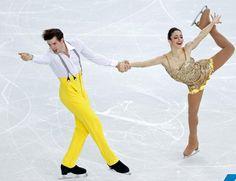 Sochi Olympic Winter Games   Stefania Berton and Ondrej Hotarek   Figure Skating