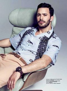 Baris Arduç - GQ Magazine Pictorial [Turkey] (April 2016)