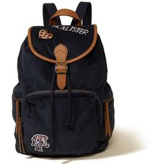 Hollister Patch Corduroy Rucksack ($45) ❤ liked on Polyvore featuring bags, backpacks, navy, corduroy backpack, rucksack bags, corduroy bag, knapsack bag and navy bag