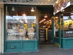 Coffee shop. Seattle