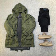 """Today's outfit outer @zara inner @zara bottom @zara sneaker @yeezyboostoffical #outfitgrid #outfitrepost #outfitoftheday #streetwear #ootd #zara…"""