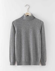 Boden Cashmere Rollneck Jumper Grey Melange Women You dont get much softer than this. Made from 100% cashmere, our super-cosy jumper is perfect for protecting you against those chilly British days. Its relaxed shape and fine knit make it easy to laye http://www.MightGet.com/april-2017-1/boden-cashmere-rollneck-jumper-grey-melange-women.asp
