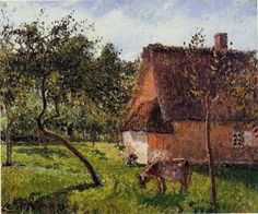 A Field in Varengeville - Camille Pissarro - The Athenaeum
