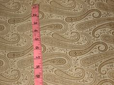 100% Pure Silk Brocade fabric Gold Colour