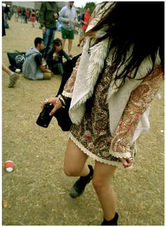 Dance in your best festival fashion.