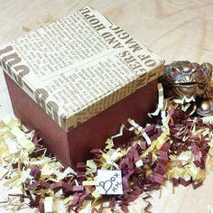 26 отметок «Нравится», 1 комментариев — Коробочки ручной работы🎁 (@box_handmade_) в Instagram: «Еще одна моя коробочка с сюрпризом от друзей скоро будет радовать именниника. (арт.003)…»