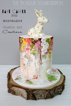 collaboration to do with Faye Cahill Cake Design and Miso Bakes!