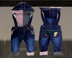 Retail: Baby Boys/Girls Overall Jeans Long Trousers Fashion Kids pants High quality baby wear free shipping US $15.28 - 16.28