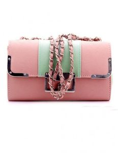 handbag with vintage chain strap Fashion Bags, Fashion Trends, Asian Fashion, Shoulder Bag, Chain, Vintage, Color, Style, Swag