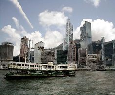 Photoshop contest - This would be Hong Kong Harbour.