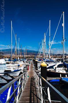 Embarcadero en @Marina Zlochin Zlochin del Sur Tenerife - Puerto deportivo #LasGalletas #Arona #Tenerife -