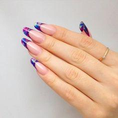 amazing blue&violet