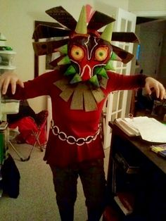 My old Skull Kid cosplay from 2013!