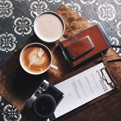 Coffee & cameras | Kelly Purkey