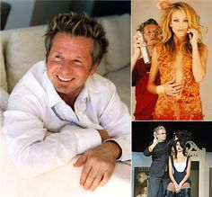 Laurent Dufourg, celebrity stylist, owner of Prive products and Prive Salons