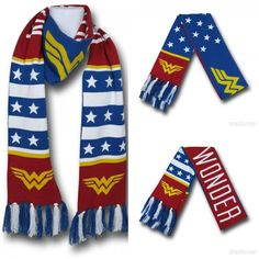 Battle The Elements With This Wonder Woman Scarf
