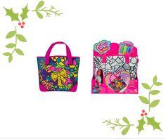 #christmas #gifting #simbatoys #colormemine #pink #gifts #colorful #bag #diy #pens