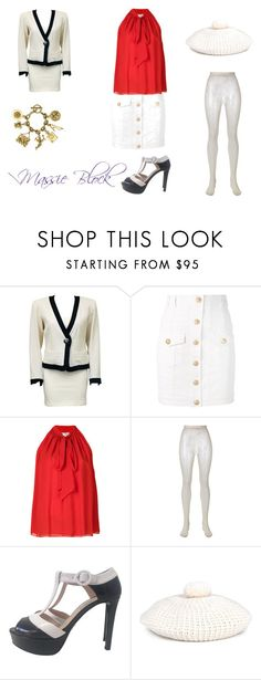 """""""Massie Block - Day at OCD"""" by massieblock2003 on Polyvore featuring Yves Saint Laurent, Balmain, Lanvin, Gucci, Prada and Chanel"""