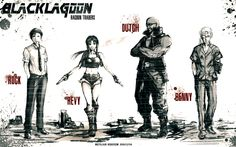 Black Lagoon - Wallpaper