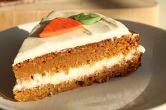 Raw mrkvový dort s citronovou polevou Vanilla Cake, Muffin, Paleo, Food And Drink, Desserts, Recipes, Lemon, Deserts, Beach Wrap