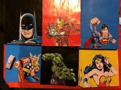 Superhero Favor Paper Bags