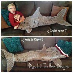 Shark sleeping bag?! Whaaaat?