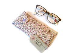 Pretty Floral Glasses Case sunglasses pouch eyeglasses case
