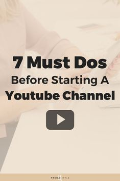 Are you interested in starting a YouTube channel for your small business? Don\'t miss this-Things You Need To Do To Start A Successful Youtube Channel #youtubetips #youtube #youtubevloggers #youtubevideo #bloggingtips #vlogger #VideoMarketing #videocontent