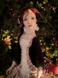 Ooak Dolls, Art Dolls, Handicraft, Victorian, Romantic, Handmade, Dresses, Decor, History