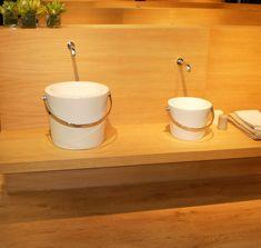 Keramik Eimer als Spülen Inspiration, Mugs, Tableware, Kitchen, Bucket, Biblical Inspiration, Dinnerware, Cooking, Tumblers