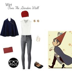 Wirt Closplay - Over the Garden Wall (OTGW) by closplaying on Polyvore featuring Vero Moda, The Row, 2nd Day, BCBGMAXAZRIA, Jules Smith and Alexis Bittar